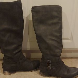 Womens dk gray boot